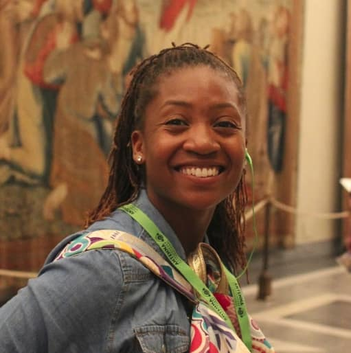 Doctors in Italy fellow Taliah at the Vatican Museums