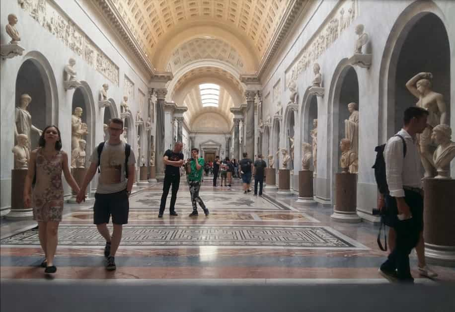 Doctors in Italy fellows visit the Vatican Museums